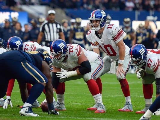 USP NFL: INTERNATIONAL SERIES-NEW YORK GIANTS AT L S FBN XEN