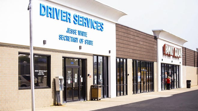 The Illinois Secretary of State Driver Services office at 3720 E. State St. in Rockford is one of two driver services offices that were closed Wednesday after an employee tested positive for COVID-19.