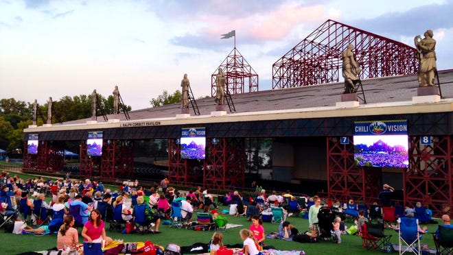 Catch some rays at Riverbend Music Center