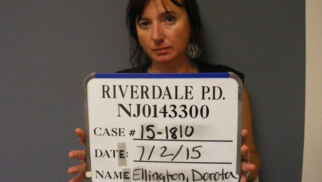 Dorota Ellington, 48, of Sparta, was arrested by Riverdale Police