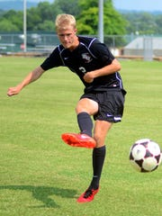 Station Camp High senior defender Tanner Carter is the Sumner County Player of the Year.