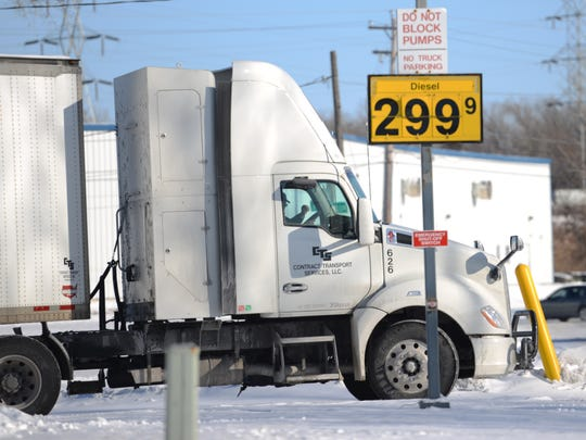 Diesel fuel prices are down, but not nearly as significantly as those for gasoline.