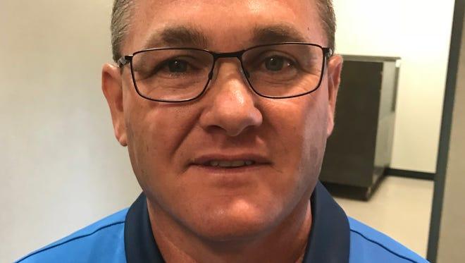 Bob Goldsmith, Democratic candidate for Tippecanoe County sheriff.
