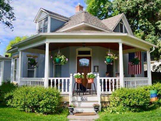The Aaron Kitchel House, 601 W. Mountain Ave.