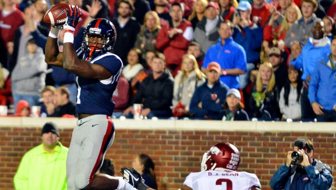 Ole Miss wide receiver Laquon Treadwell has spent this season developing into a complete player.