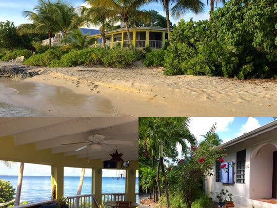 Chuck Brittain's home in Frederiksted, St. Croix, is