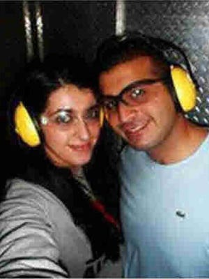 Noor Salman and her husband, Pulse nightclub gunman Omar Mateen, go to a shooting range in Florida before the Orlando attack.