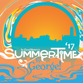 The poster design for Summertime by George! 2017, presented by the Rotary Club of St. Cloud.