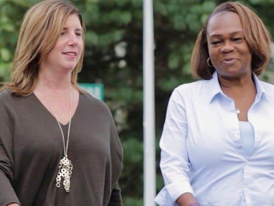 Jennifer Sherrod, left, and Bridget H. Harris, both Democrats, are running for Eatontown Borough Council.
