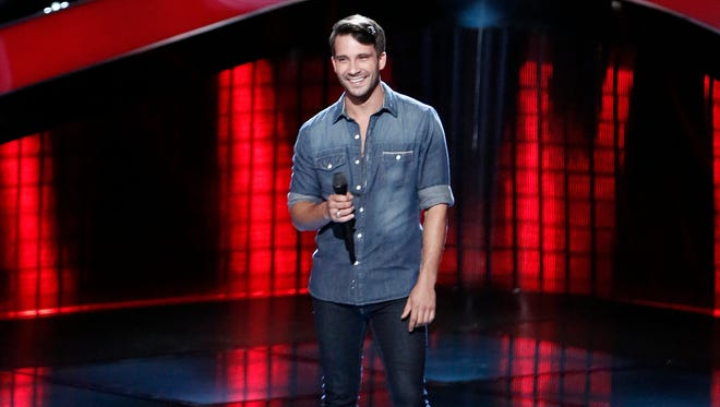 "THE VOICE -- ""Blind Auditions"" Episode 1301 -- Pictured: Mitchell Lee -- (Photo by: Tyler Golden/NBC)"