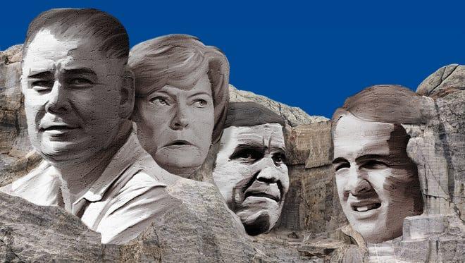 Gen. Robert Neyland, Pat Summitt, Johnny Majors and Peyton Manning worthy of spots on Knoxville sports Mount Rushmore