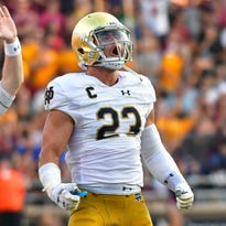 How spring position changes are affecting Notre Dame's defense