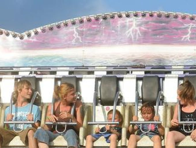 Games, rides, livestock shows and other entertainment were on tap for the 164th Marion County Fair.