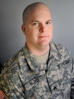Sgt. Justin Floyd of Waynesboro.