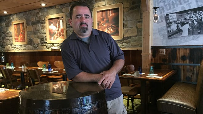 Bob Youst and his friend, Jim Maroulis, gutted and then rebuilt an old business in the Showboat Hotel building on River Street to create Whiskey River Pub & Grill.