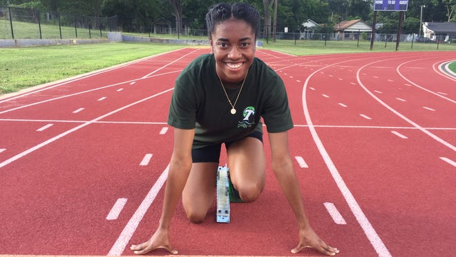 Byrd's Kyah Loyd is ready to bolt out of the blocks at this weekend's Brooks PR Invitational in Seattle.