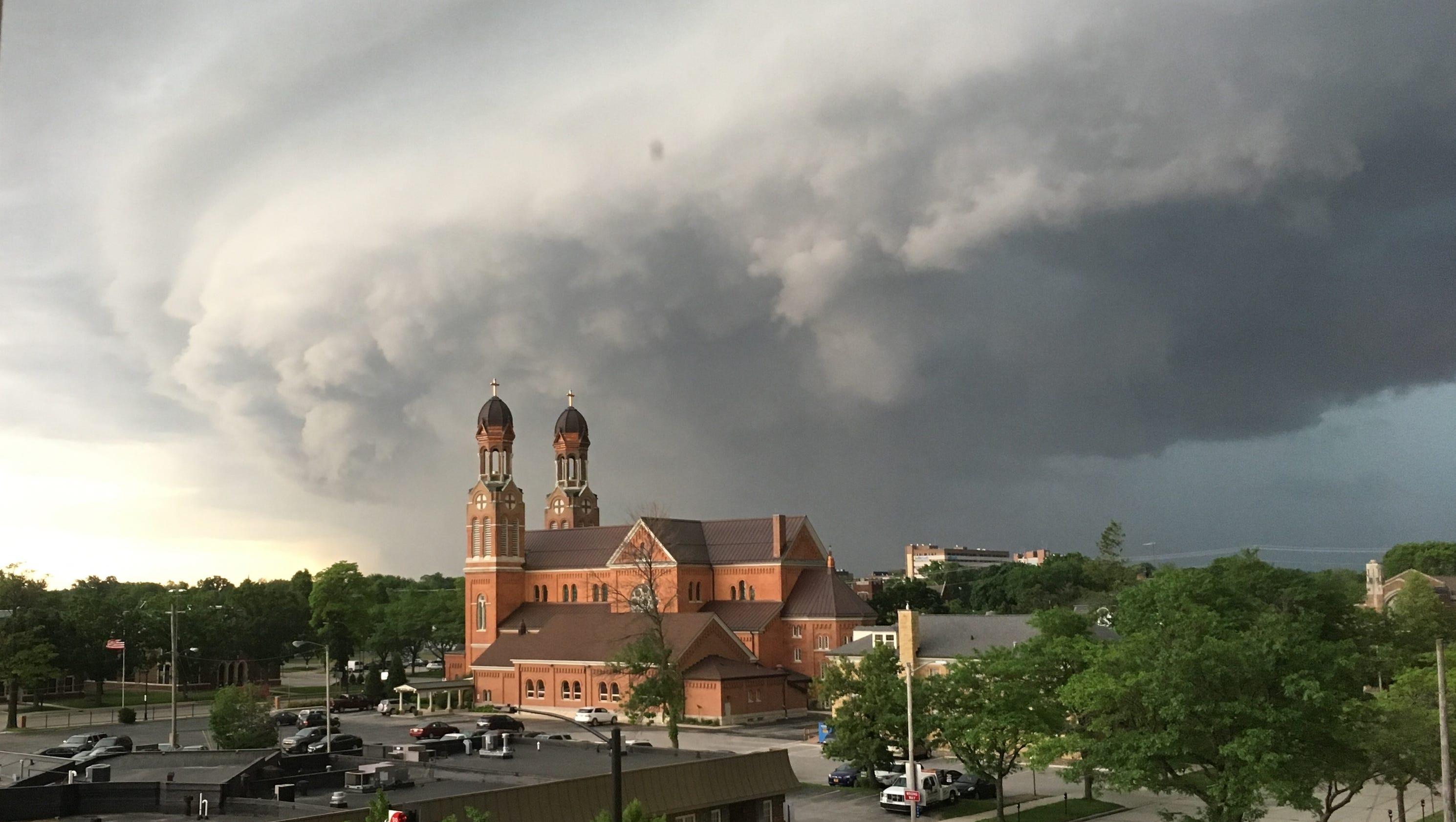 Brown Surrounding Counties Were Under Tornado Warning