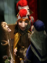 The marionettes operated by Fox Valley Lutheran High