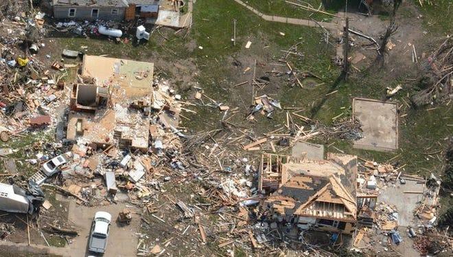 Delmont damage