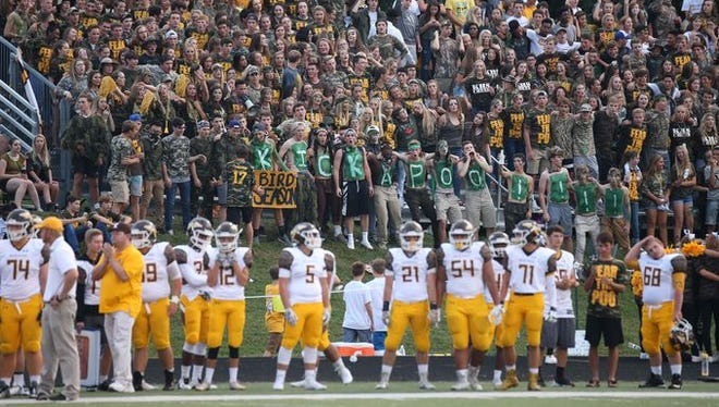 Kickapoo (5-1) is scheduled to visit West Plains (2-4) Friday night for a varsity football game.