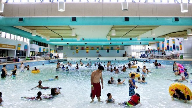 Catch a wave indoors at the Kiwanis wave pool in Tempe.