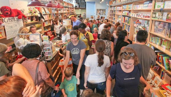 The grand opening of Carmichael's Kids in Louisville in August 2014. Writer Shea Serrano decided Wednesday, May 17, 2017, to direct his Twitter followers to Carmichael's online store. The move generated more than 1,100 orders in a day.