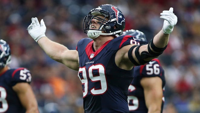 Reigning Defensive Player of the Year J.J. Watt leads the Houston Texans in to Paul Brown Stadium on Monday Night Football to take on the unbeaten Cincinnati Bengals.