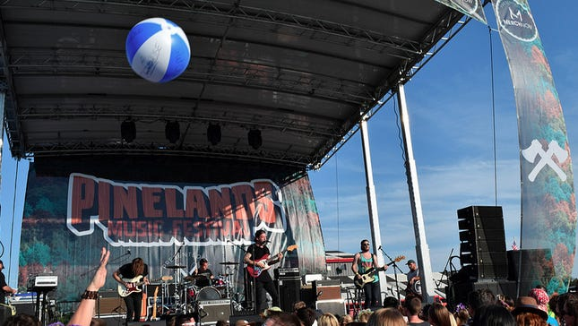 Cruisr, pictured performing at the 2015 Pinelands Music Festival.