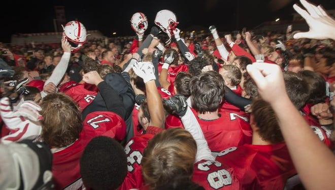 Center Grove is ranked No. 1 in Class 6A