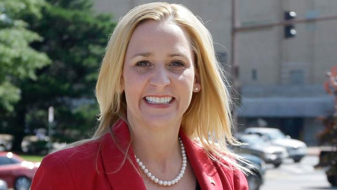Republican primary election runoff candidate Leslie Rutledge, a former lawyer for the Republican National Committee and ex-Gov. Mike Huckabee, finished first in the May 20 primary against David Sterling and civil rights attorney Patricia Nation.