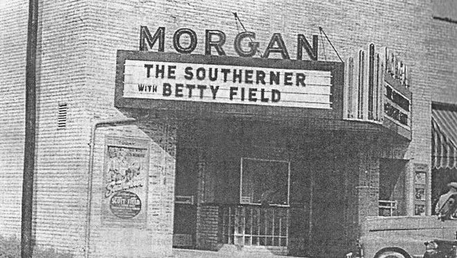 The Morgan Theater on the southwest corner of the Mountain Home square had a 93-seat balcony.