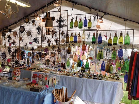 Visitors can expect to find one-of-a-kind treasures at the Two Rivers Arts and Crafts Festival today through Sunday.