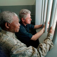 Anger fumes over charity auctioning a night in Nelson Mandela's prison cell