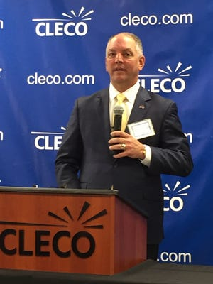 Louisiana Gov. John Bel Edwards talks about Cleco's $7 million donation to economic development efforts in the state.
