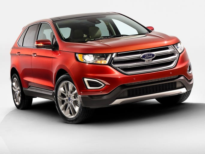 Redesigned 2015 Ford Edge Titanium.