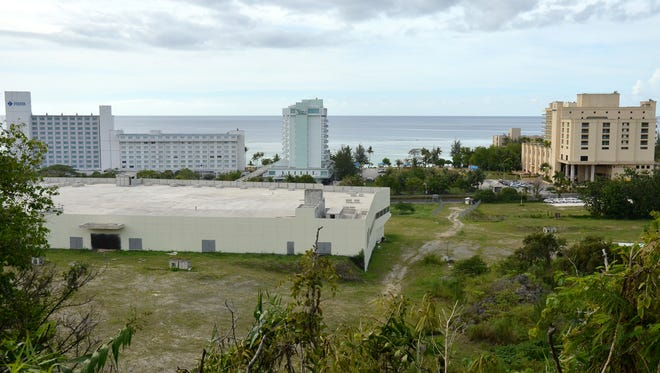 A new mall in Tumon, across Pale San Vitores Road from Matapang Beach, is in the works.