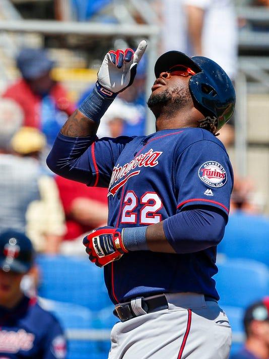 USP MLB: SPRING TRAINING-MINNESOTA TWINS AT TORONT S BBA TOR MIN USA FL