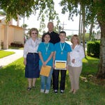 The first St. Andrew Father Timothy Murphy Ministry Award was presented to Bryan Smith.