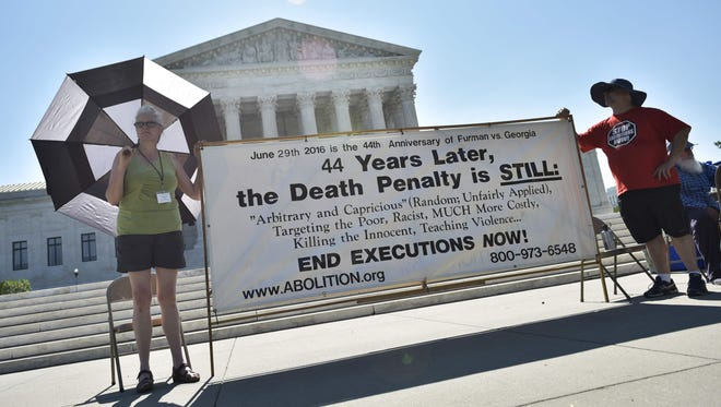 The Supreme Court refused Monday to consider a challenge to Alabama's system of letting judges overrule juries and impose the death penalty.