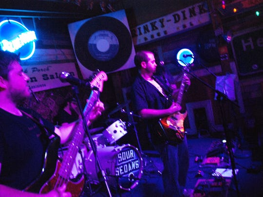 The Sour Sedans perform as part of the Melting Pot Show at Blue Moom Saloon at 9 p.m. Saturday.