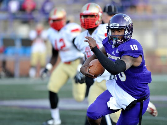 WCU quarterback Troy Mitchell (10) is expected to start Saturday vs. Wofford after suffering a shoulder injury last week.
