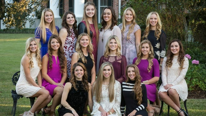 St. Thomas More Homecoming Court