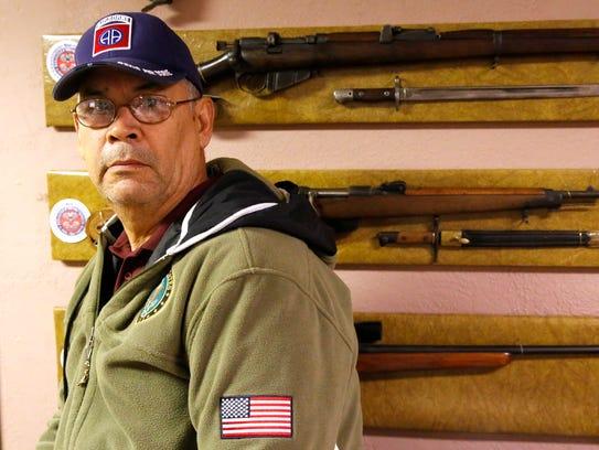 Eusebio Bretado Jr. said serving in the Army set him