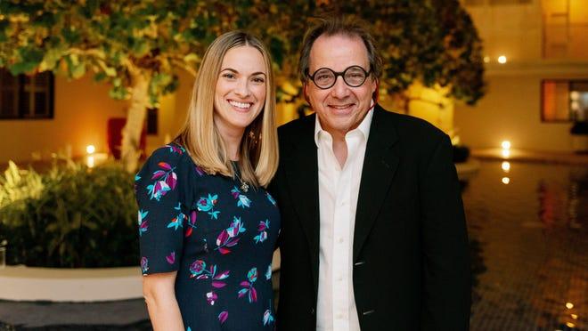 Amanda Skier and Hicks Stone