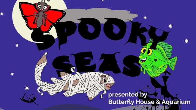 """The Butterfly House is hosting """"Spooky Seas,"""" a Halloween celebration Friday."""