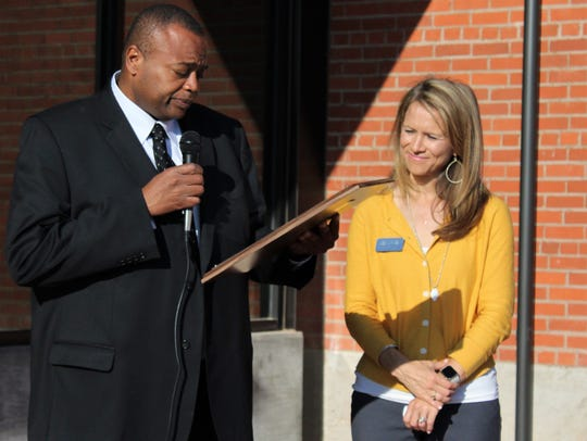 Mayor Anthony Williams proclaimed Friday as Community