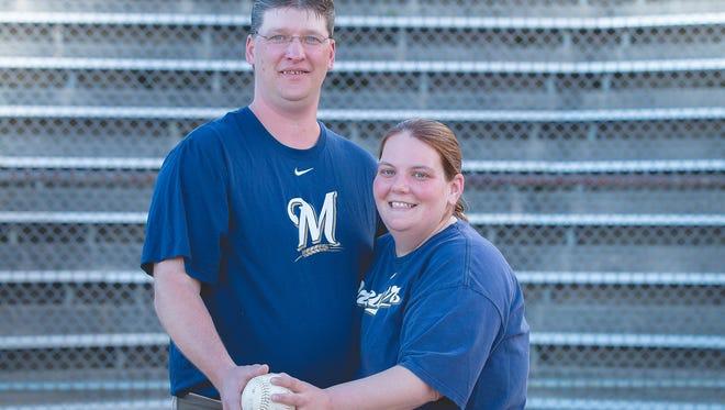 Kimberly Paul and John Moore