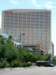 The Sheraton Grand Phoenix opened in the middle of