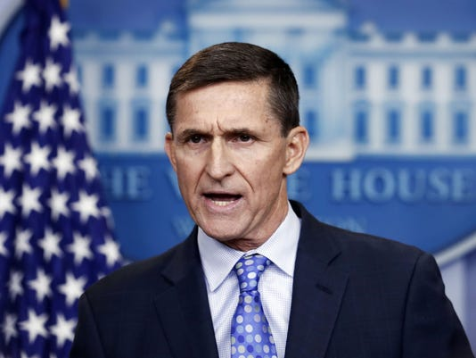 AP TRUMP RUSSIA PROBE FLYNN A FILE USA DC
