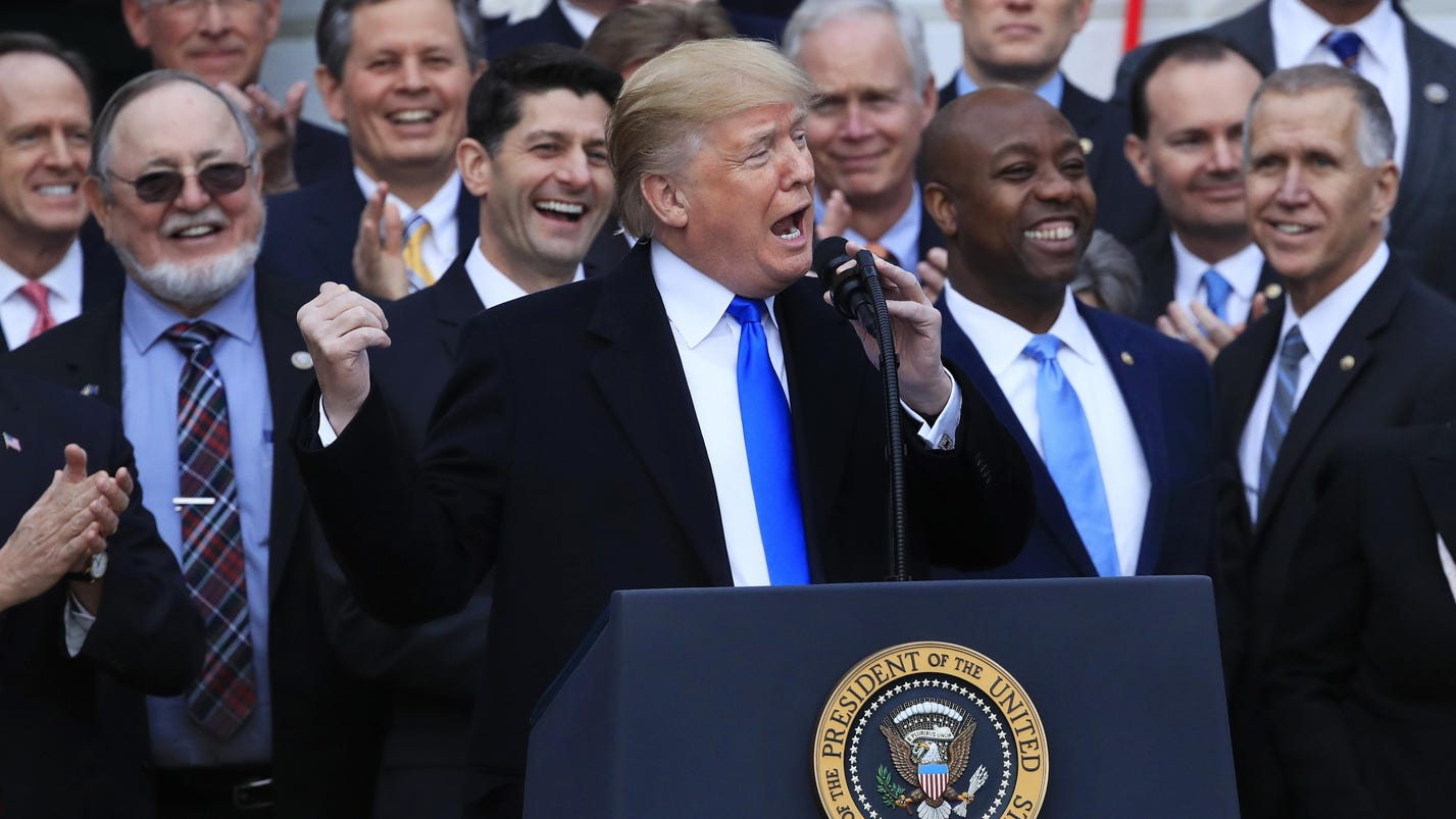 Trump has kept many promises during 1st year in office